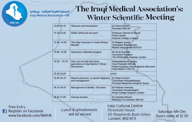 IMA-UK Winter Scientific Meeting 2014
