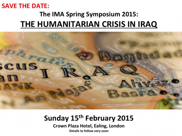 IMA Spring Symposium- Save the date!